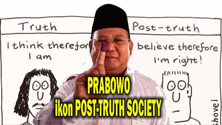 "Prabowo Ikon ""Post-Truth Culture"""