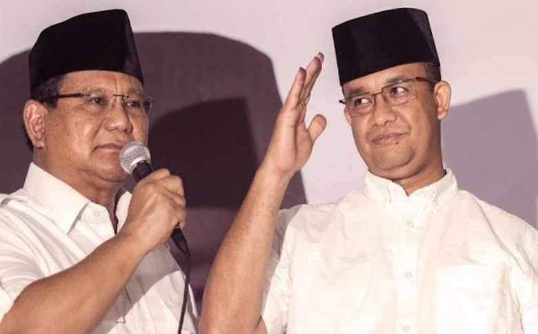 Anies vs Prabowo