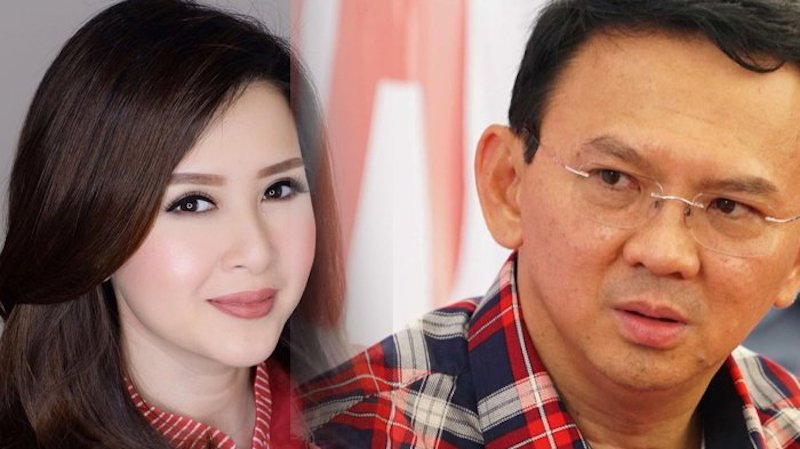 Harapan Prabowo Hanya pada Ahok dan Grace Natalie