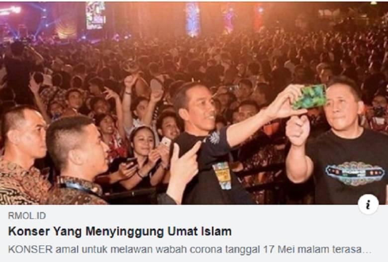 Saat Konser pun Dibenturkan dengan Umat Islam