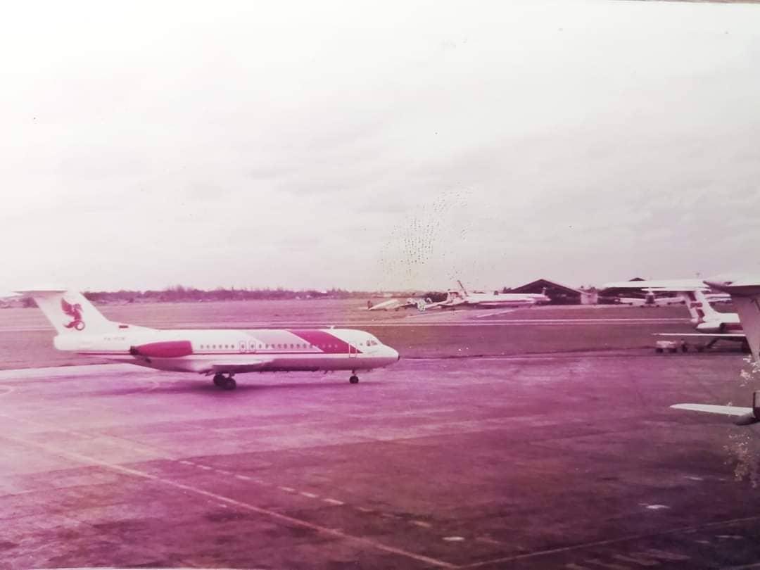 Bandara Kemayoran di Tahun 1980-an