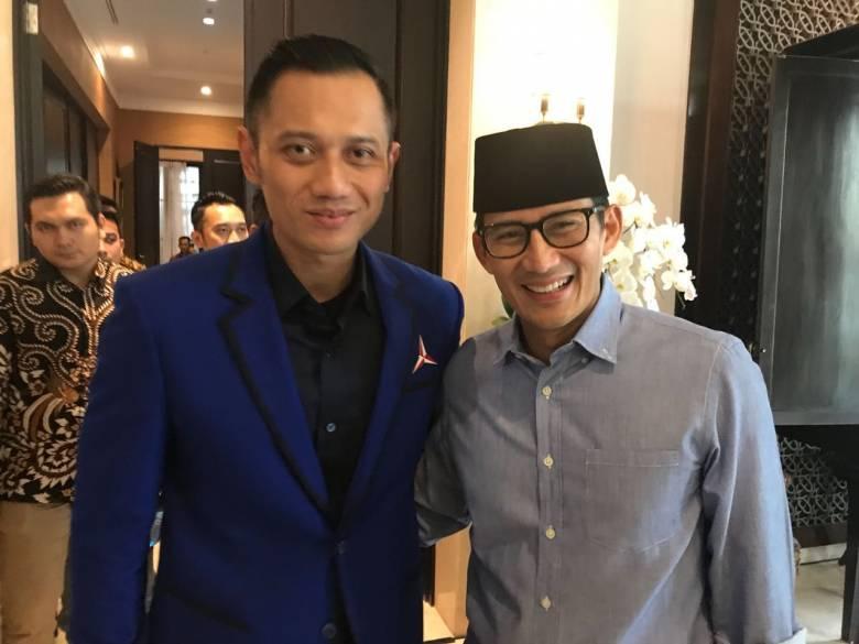 Pertemuan AHY-Jokowi dan Dampaknya terhadap Sandiaga