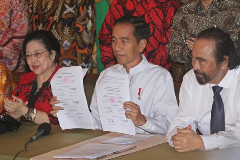 """Pecahnya """"Matahari Kembar"""" di Koalisi Jokowi"""