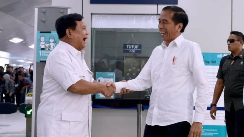 Pesan Simbolik dari Pertemuan Jokowi-Prabowo di MRT