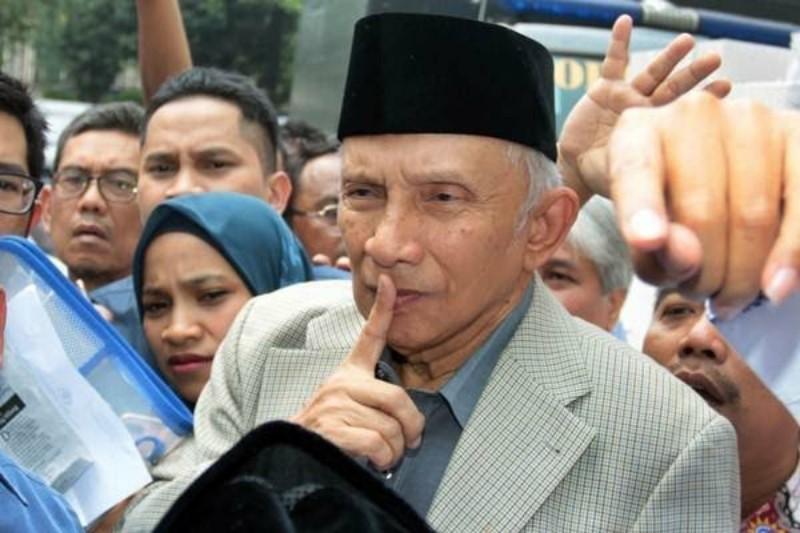 Sebab Amien Rais, Rekonsiliasi Prabowo-Jokowi Bisa Gagal