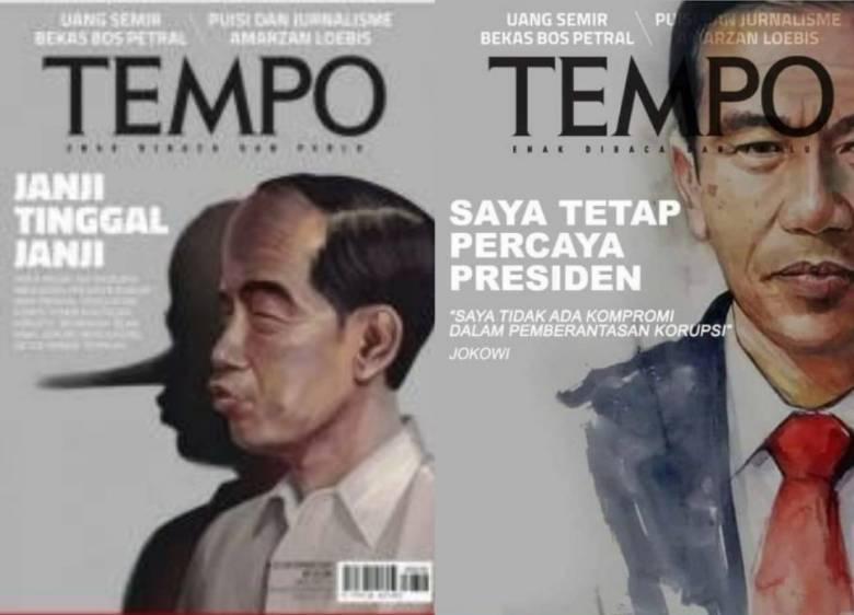 Klarifikasi Dua Sampul Majalah Tempo yang Kontroversial