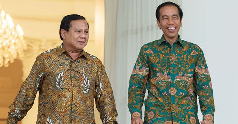 Prabowo Tidak Sama Tinggi dengan Jokowi
