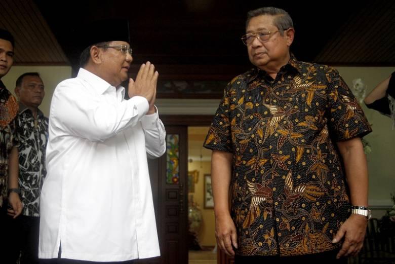 Pernyataan Prabowo di Tengah Duka SBY