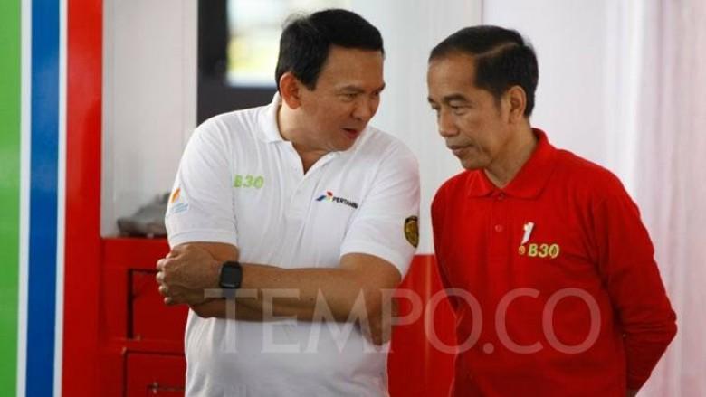 Jokowi Cari Penyakit Jika Pilih Ahok Sebagai Kepala Badan Otorita IKN?