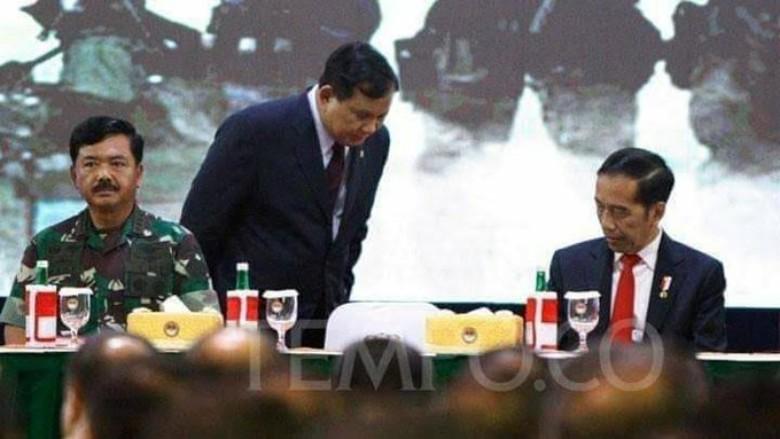 Adab Prabowo Terhadap Presiden Jokowi