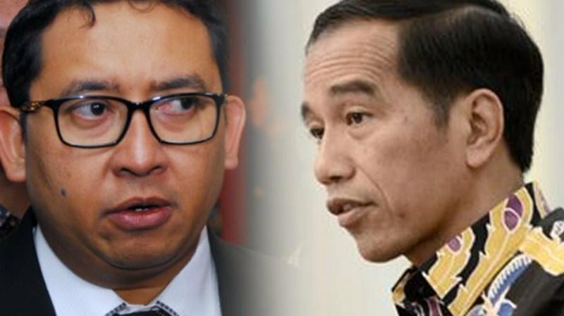"Jokowi Pidato Fadli Zon yang ""Spaning"""