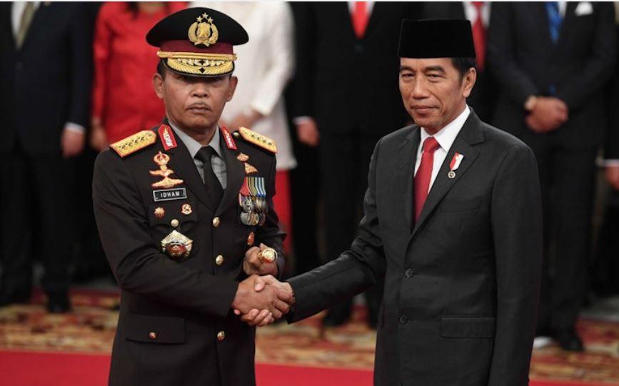 "Kapolri Dukung Presiden Jokowi dari Ancaman ""Politik Corona"""