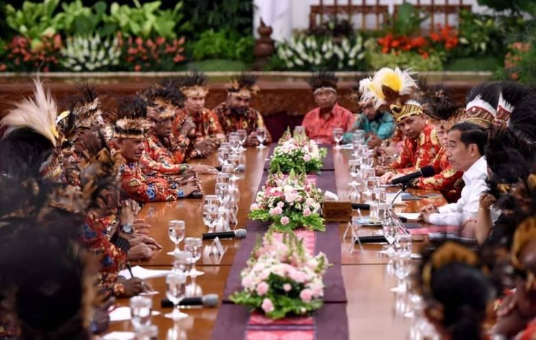 Presiden Jokowi Penuhi Aspirasi Tokoh Papua