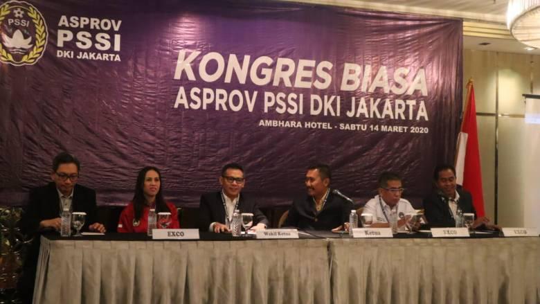 Kongres Biasa Asprov DKI Munculkan Gelaran Kompetisi Sepakbola Setahun Ke Depan