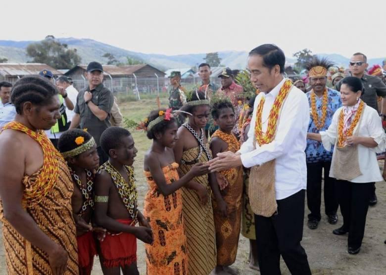Memaknai Antusiasme Masyarakat Papua Sambut Presiden Jokowi