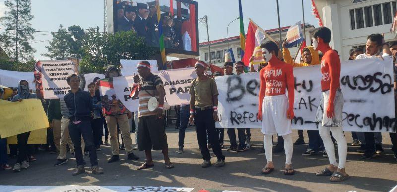 Mahasiswa Tegaskan Papua Bagian Dari NKRI