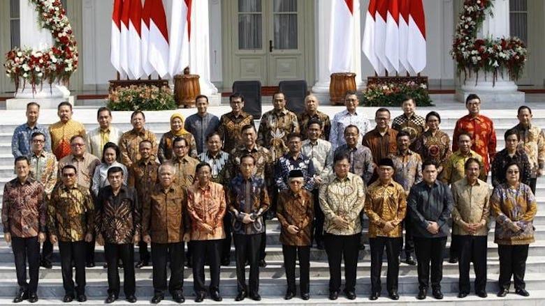Mendukung Kinerja Menteri Kabinet Indonesia Maju