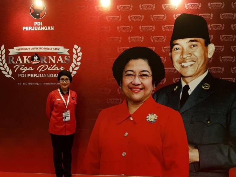 """Anggota DPR RI Selly: """"Sekali Mega Tetap Mega"""""""