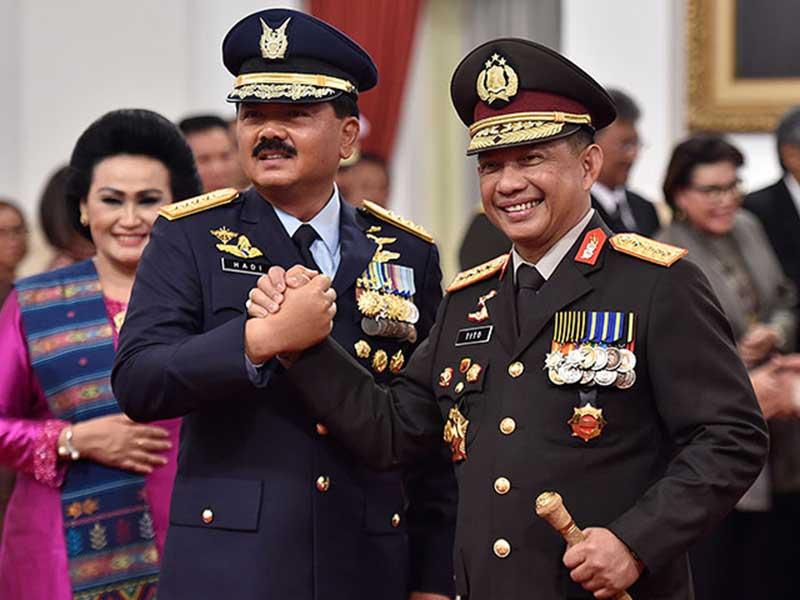 Aparat Keamanan Siap Amankan Pelantikan Presiden/Wapres Terpilih