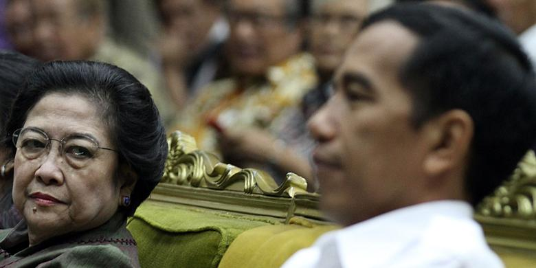 Aroma Pilkada dan Reshufle dalam Pertemuan Jokowi-Megawati