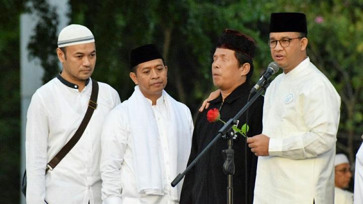 Reuni Akbar Aksi 212 Panggung Besar untuk Anies Baswedan