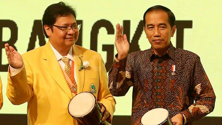 Airlangga Jokowi