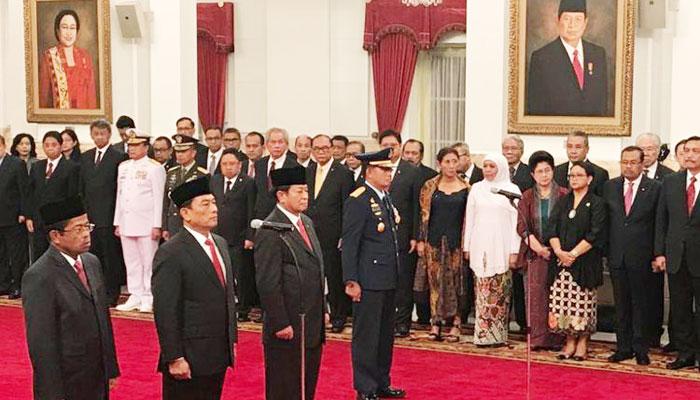 """Reshuffle Jilid Tiga dan """"Sedekah"""" Politik Jokowi Hadapi Pilpres"""
