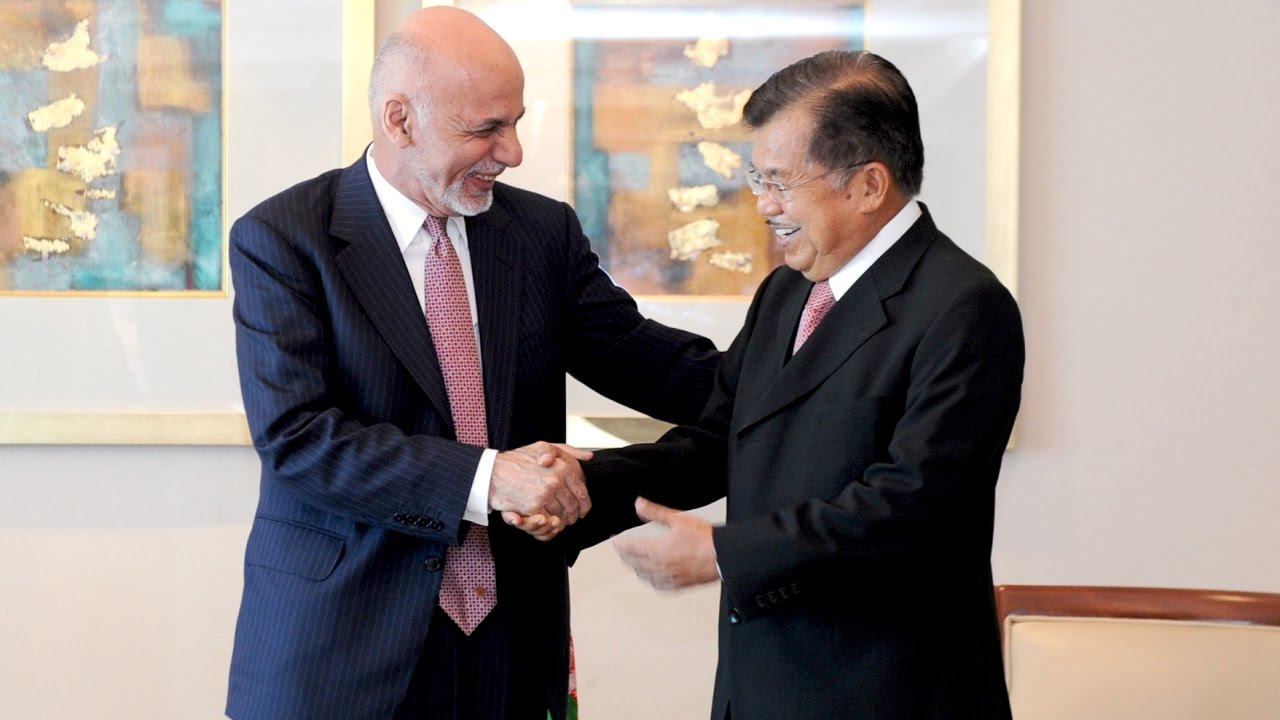 Jusuf Kalla di Afghanistan Ciptakan Perdamaian sebagaimana Aceh