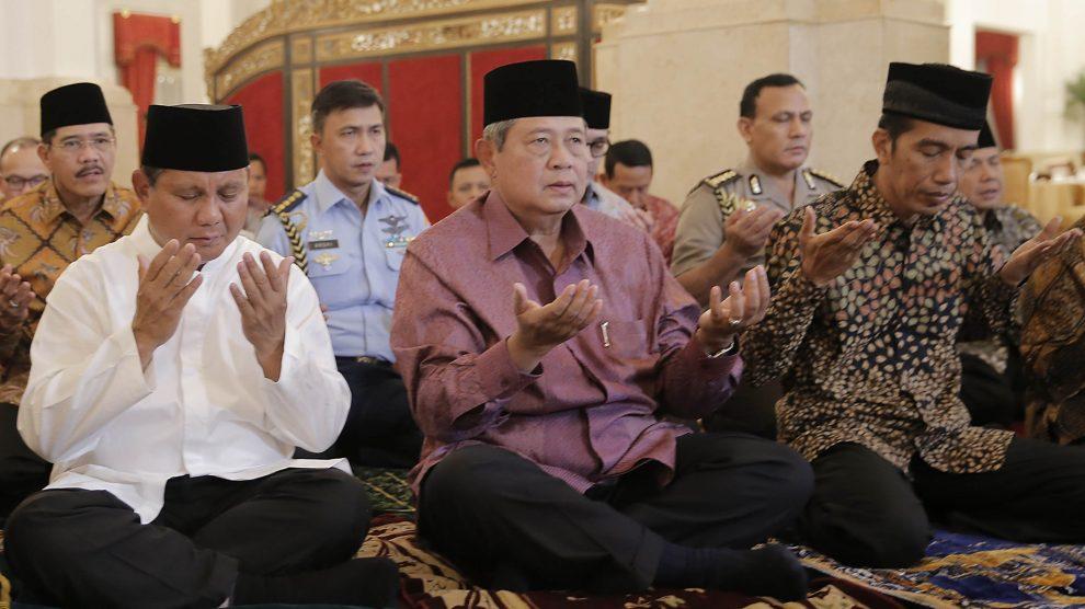 Kecuali Spongebob, Jokowi Maupun Prabowo Butuh Pencitraan