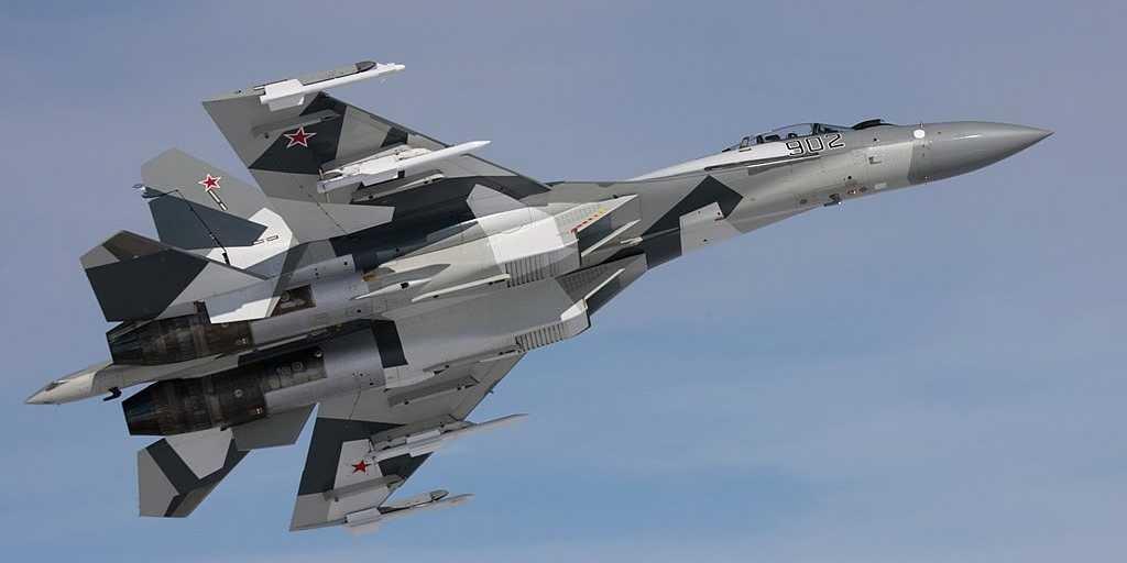 Selamat Datang Pesawat Tempur Supercanggih Sukhoi SU-35!