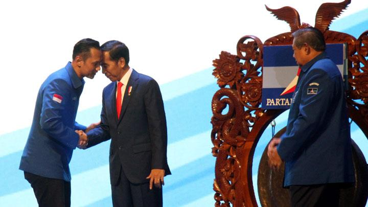 Bertemu Presiden Jokowi, Iklan Politik Jitu AHY