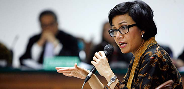 Untuk Menteri Terbaik Dunia, Saudari Sri Mulyani