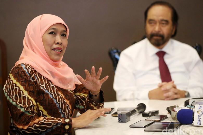 """Dukungan Khofifah Mulai """"Barisan Jokowi"""" Hingga Putra Bung Tomo"""