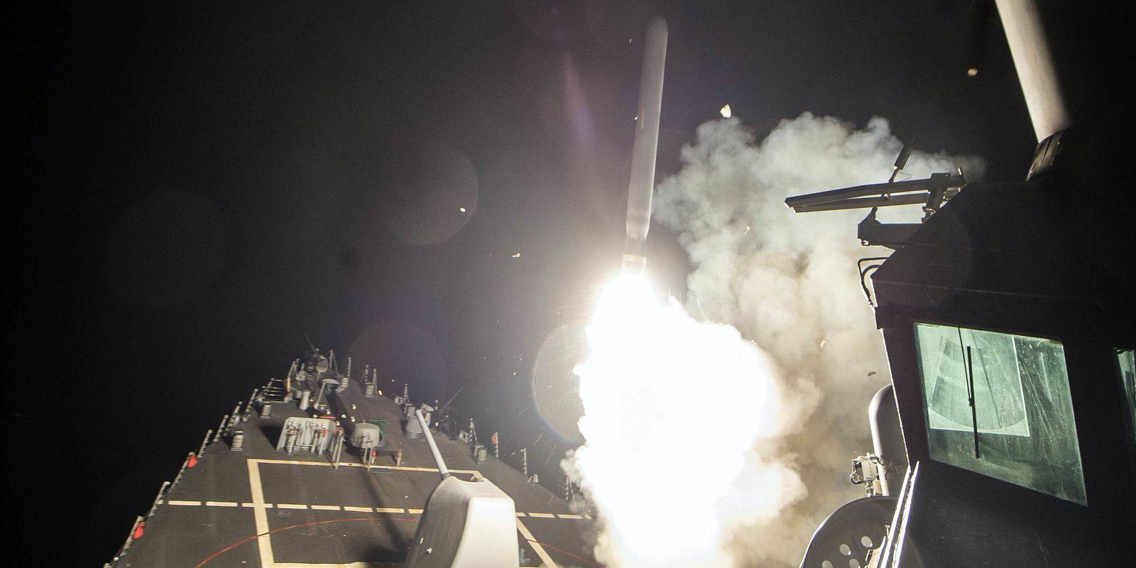 Dari 100 Rudal yang Ditembakkan Amerika, 71 Dilumpuhkan Suriah