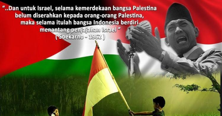 Malapetaka Zionis Israel dan Perlawanan Soekarno