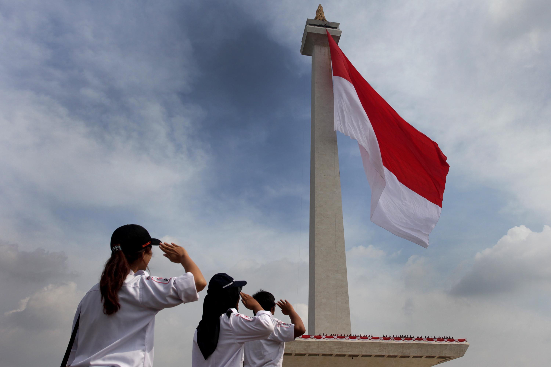 7000 Gambar Anak Sd Hormat Bendera Merah Putih  Terbaru