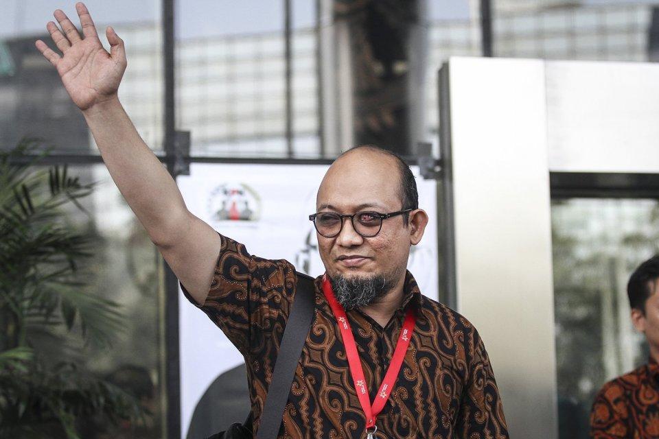 Novel Baswedan Menunggu Janji Presiden Jokowi