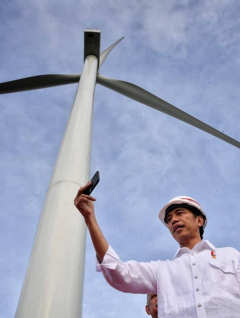 PLTB Sidrap Berkapasitas 75 MW Selesai dan Sudah Saya Resmikan