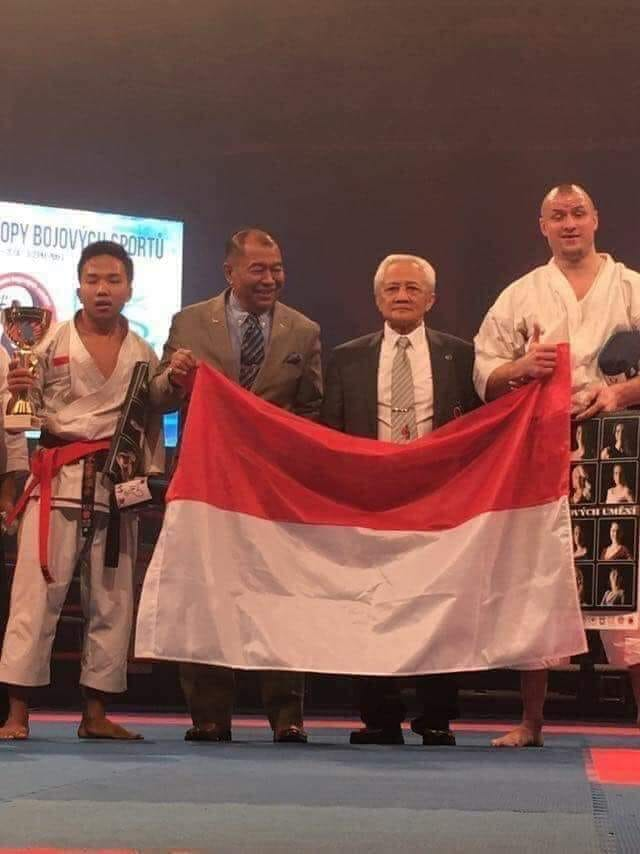 Fauzan Noor, Prahara Juara Dunia Karate