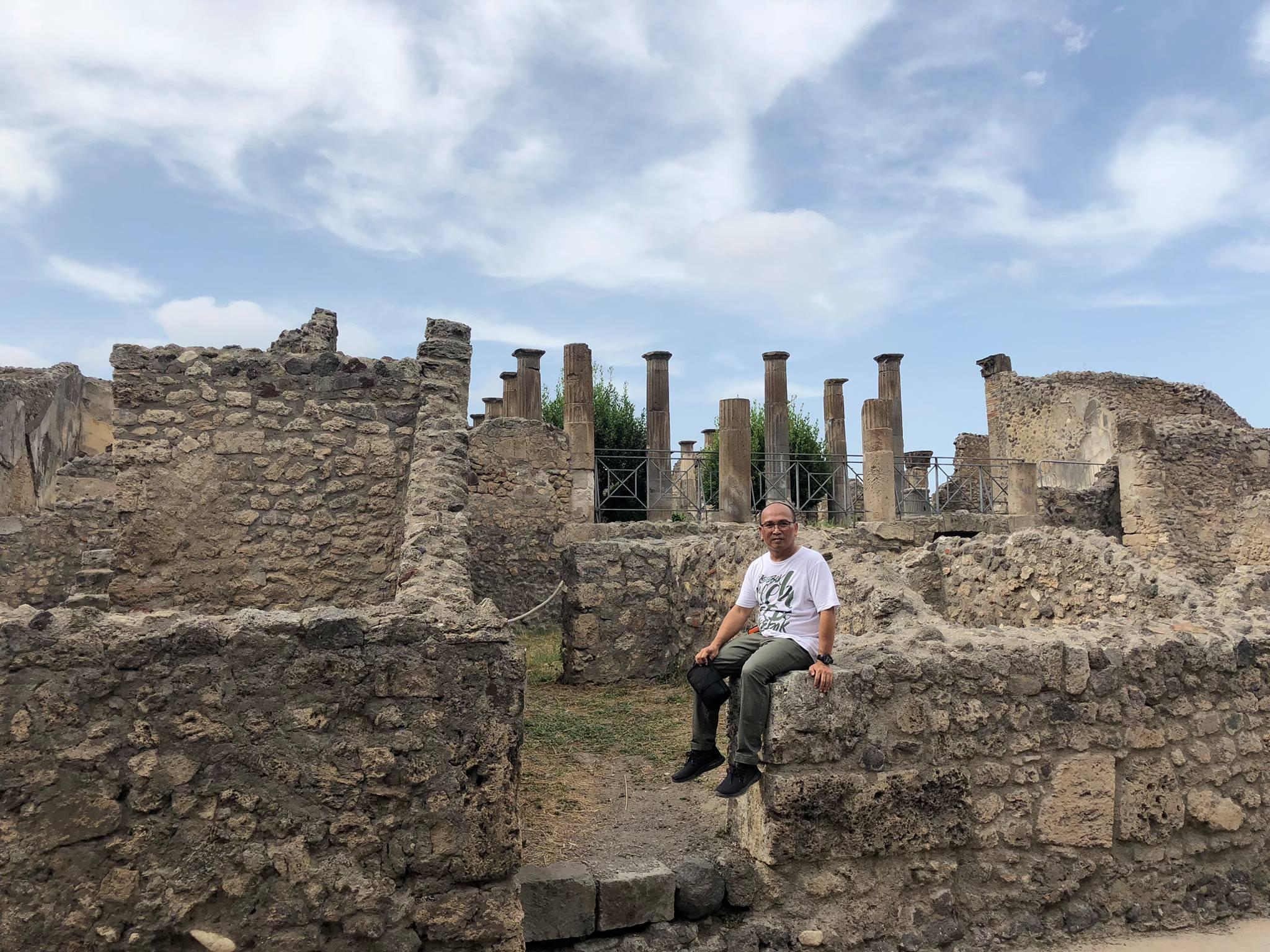 Pompeii, Reruntuhan Kota Kuno yang Menakjubkan
