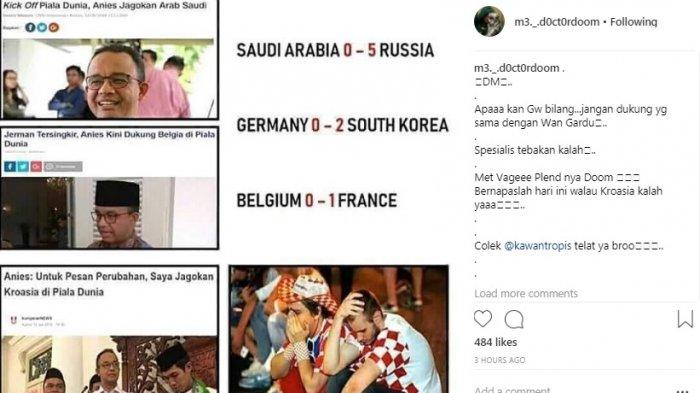 Ketika Perancis Benar-benar Juara, Jadilah Jokowi Dua Periode