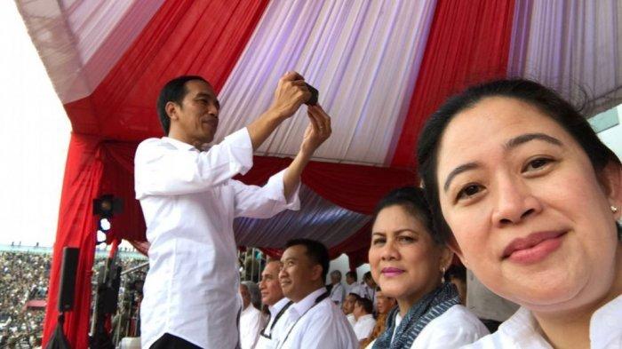 Oposisi Tepuk Tangan Suka Cita Jika Puan Jadi Cawapres Jokowi