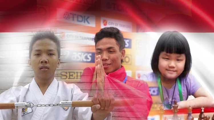 Juara Dunia Milik Indonesia Tak Hanya Zohri, Ada Fauzan dan Samantha