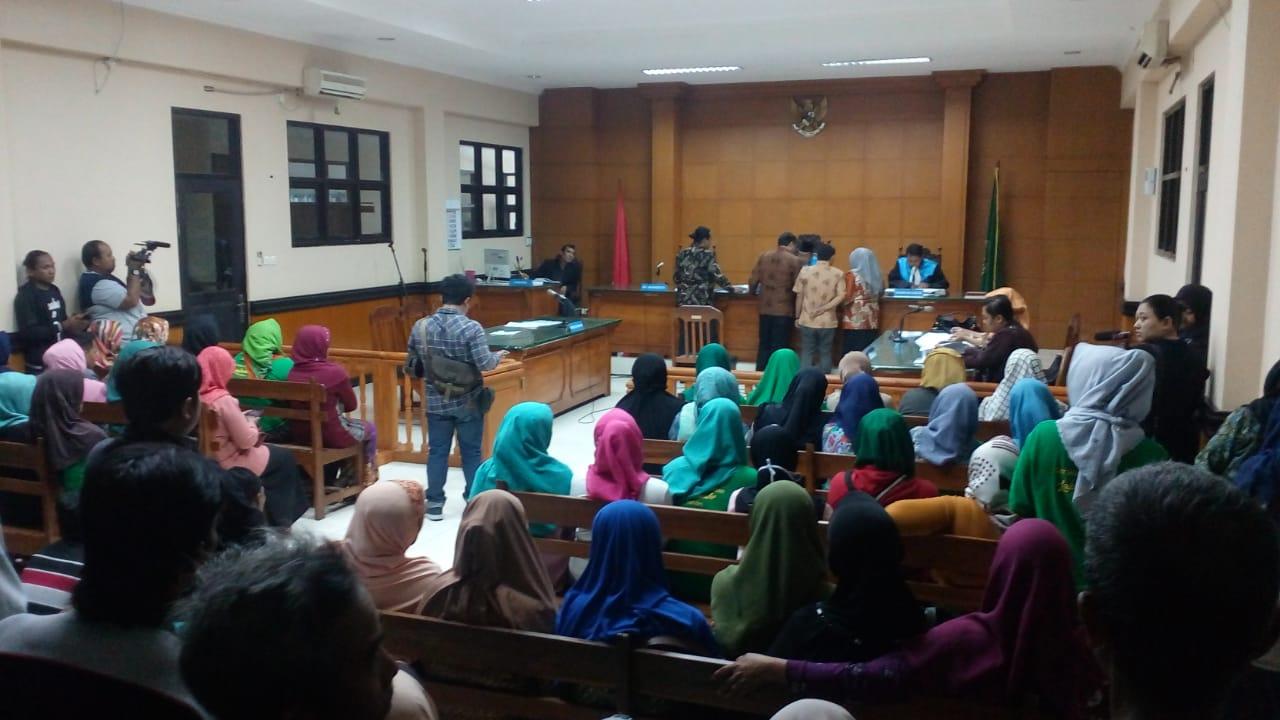 Srikandi Lakardowo Akhirnya Menggugat Pemkab Mojokerto