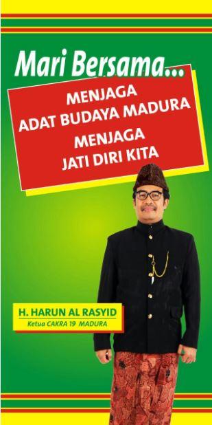 Harun Al Rasyid Berani Mengawal Madura Provinsi