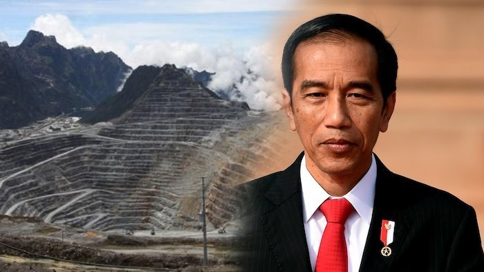 Jokowi di Balik Akuisisi Saham Freeport Indonesia